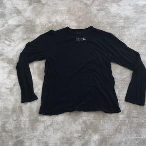 RtA black long sleeve - L
